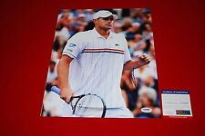 sexy tennis star ANDY RODDICK  signed psa/dna 11x14