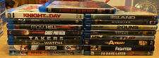 Lot of 17 Blu Ray Movies Harry Potter Snitch A-Team Shooter Takers