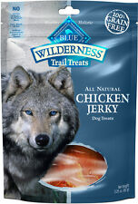 Blue Buffalo Wilderness Chicken Jerky 3.25OZ  Free Shipping
