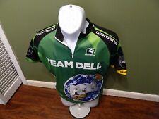 Giordana Team Dell Cycling Jersey Men's Size MEDIUM