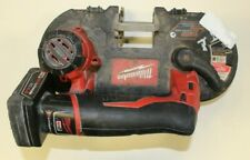 Milwaukee 2429-20 Cordless Sub-Compact Band Saw w/ Battery