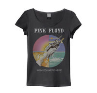 Pink Floyd 'Wish You Were Here' Womens T-Shirt - Amplified - NEW & OFFICIAL!