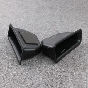 2Pcs fit Ford Explorer 16-17 Rear Door Armrest Storage Box Holder Container New