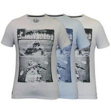 Motorcycle Short Sleeve Regular Size T-Shirts for Men