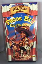 Shelly Duval's Tall Tales & Legends Pecos Bill King of Cowboys VHS