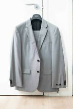 Hugo Boss Light Gray Slim Fit Suit 38S