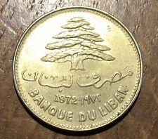 PIECE DE 25 PIASTRES DU LIBAN 1972 (133)
