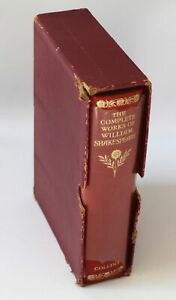 The Complete Works of William Shakespeare 1961 Collins Slipcase Softback - G38