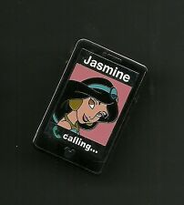 Aladdin Jasmine Calling Cell Phone Splendid Walt Disney Pin