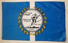 Korean War Vetarns Flag 3' x 5' Indoor Outdoor Officially Licensed Banner