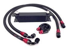 @@ Universal Ölkühler Kit 9 Reihen Black VR6 16V 1.8T S2 Turbo TFSI @@