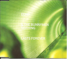 Ian Mcculloch ECHO & THE BUMMYMEN Nothing Lasts forever 2 UNRELEASED CD Single