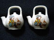 Vintage 1976 ENESCO Mini Salt & Pepper Shakers / Teapot / Korea
