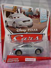 htf 2014 PIXAR Cars 2 ✿ JONATHAN SHIFTKO✿blue AUDI✿ 9/9 allinol BLOWOUT ✿ 1/55