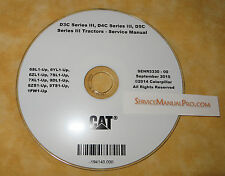 SENR5330 CAT Caterpillar D3C D4C D5C 3 III Track Type Tractor Service Manual CD