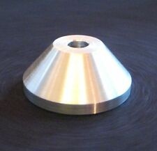 """7"""" 45 RPM ALLOY TURNTABLE SPINDLE ADAPTOR FOR REGGAE SOUL FUNK IMPORT U.S"""