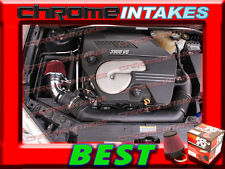 K&N+BLACK RED 04 05 06-11 CHEVY MALIBU/PONTIAC G6 3.5L/3.6L/3.9L V6 AIR INTAKE S