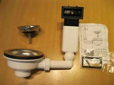 Blanco Ablauf Set  Magnat Kunststoff auch passend IKEA Boholmen