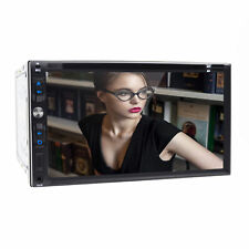 """Touch Screen Sony Lens Double 2Din 7"""" Car Stereo Radio DVD Player iPod BT TV USB"""