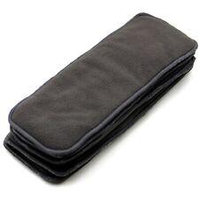Super Soakers Cloth Diaper Insert Doubler 8x19 Bamboo Cotton  4 Layer