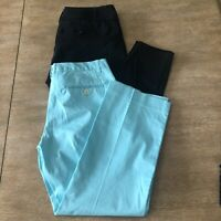 Lot Of 2 Women's Size 4 The Limited Exact Stretch/Drew Fit Career Crop Pants