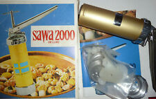 Vintage Sawa 2000 Deluxe Cookie Press in Box Complete w/ Instructions Sweden