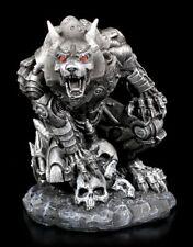 Steampunk Werwolf Figur - Werewolf Lair - Gothic Statue Deko Wolf