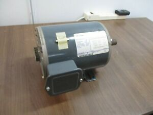 GE AC Motor K127 1HP 1800 RPM 208-230/460V 3.6-3.8/1.9A 3Ph 60Hz Used