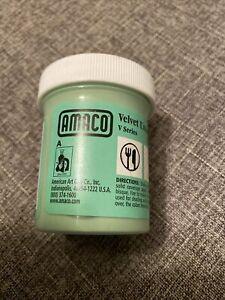 AMACO Velvet Underglazes Lead Free 2 oz. Light Green  V-345
