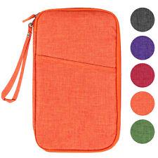 Travelus Handy V.4 - Organizer Wallet Passport Cover Boarding Pass Holder Orange