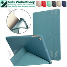 For iPad 2/3/4 5th 6th 9.7 Pro 11 10.5 Origami Magnetic Leather Smart Cover Case