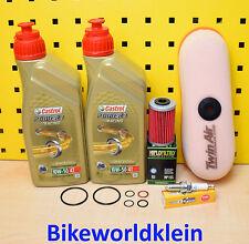 Husaberg FE 400 450 550 501 650 03-08 Servicekit Luftfilter Ölfilter Zündkerze