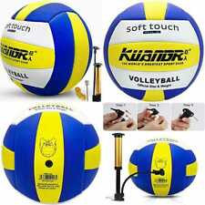 New listing Volleyball Official Size 5 Indoor Outdoor Beach For Pool Gym Training YELLOW 1