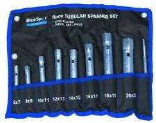 Tubular Box Spanner Wrench Set 6mm - 22mm Metric Zinc Plated BlueSpot 04308