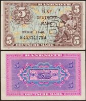 5 DEUTSCHE MARK 1948 [B] ALLEMAGNE / GERMANY - P5b - stamped B