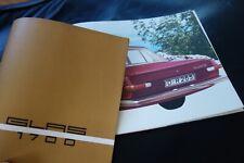 GLAS 1700....16-Seiten-Prospekt.....RAR + TOLL + FAST WIE NEU....1965