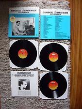 A George Gershwin Anthology French Triple Album CBS Box Set Various Artists Mint