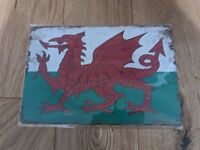 Scotland flag VINTAGE PUB BAR METAL SIGN A4 SIZE RETRO MAN CAVE 20X30CM