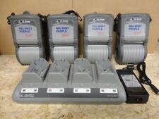 Set of 4  x Zebra QL320 Mobile WIFI Portable Barcode Label Printer Thermodrucker