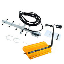 GSM 900MHz Mobile Cell Phone Signal Booster Repeater Amplifier + Yagi Antenna T