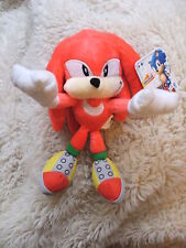 Sonic Knuckles Plush the Echidna 20th Anniversary Hedgehog Toy Figure Jazwares