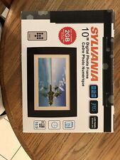 """Sylvania 10"""" Digital Photo frame 2 GB memory 16:9 Aspect Ratio"""