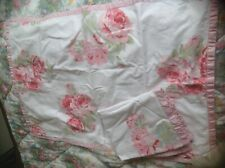 LAURA ASHLEY PINK/ROSES  pair of pillowcases