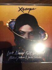 MICHAEL JACKSON & JUSTIN TIMBERLAKE 'XSCAPE' RARE SONY DUTCH 2 TRACK CD PROMO