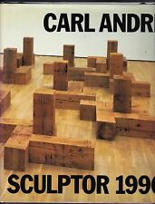 CARL ANDRE SCULPTOR 1996-TEXT IN ENGLISH & GERMAN