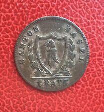 Suisse - Basel - Bale  -  Très jolie monnaie de 1 Batzen 1826