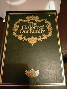 """""""The History of Our Family"""" Book Originated by Julie Hausner - UNUSED"""