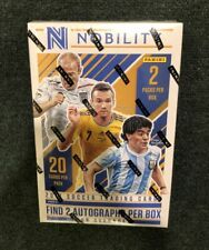 2017 Panini NOBILITY Soccer ~ Sealed Hobby Box (2 autos)! High end Messi? Pele?