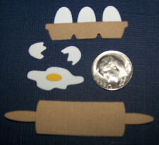 2 Egg Sets Premade PAPER Die Cuts / Scrapbook & Card Making