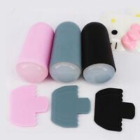 Clear Nail Art Stamping Transfer Stamper Scraper Plate Manicure Tool Kit Set G6S